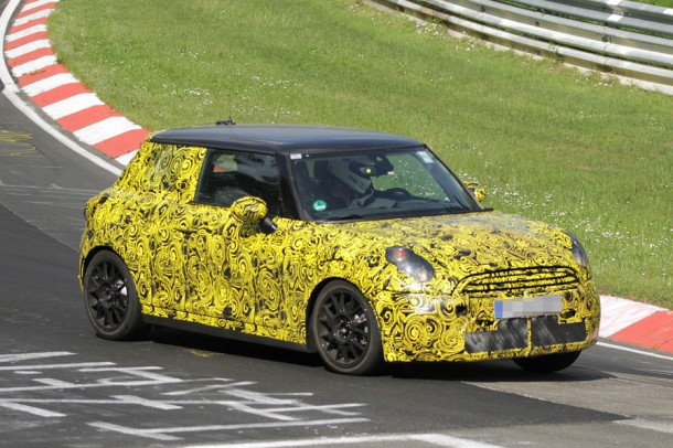 MINI Cooper S 2013 Spy Photo