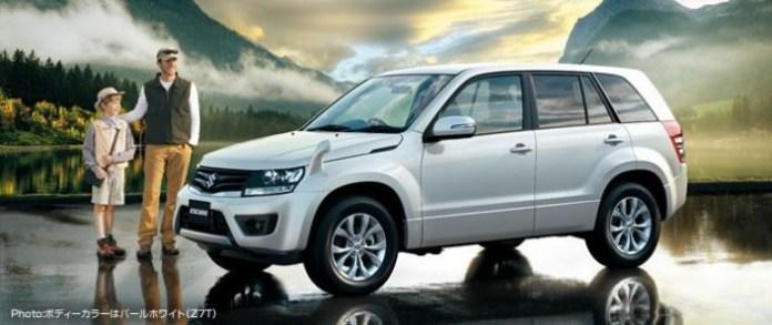 Suzuki Grand VitaraEscudo Facelift 2013