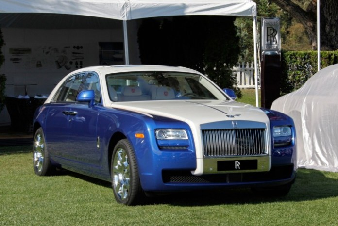 One-off Rolls-Royce Ghost 2013 at Pebble Beach