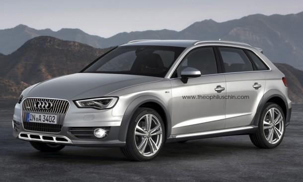 Audi A3 allroad quattro Rendering