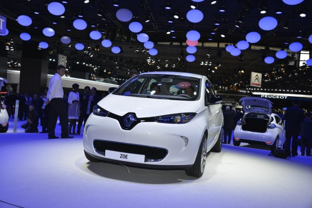 Renault Zoe EV Live in Paris 2012