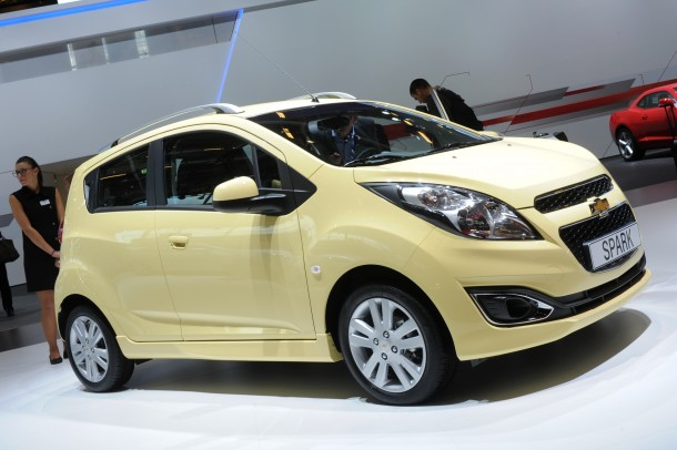 Chevrolet Spark Facelift Live in Paris 2012