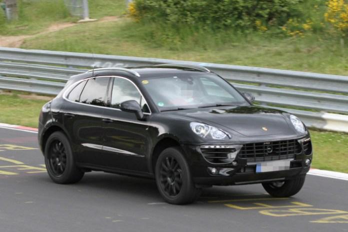Porsche Macan 2014 Spy Photos