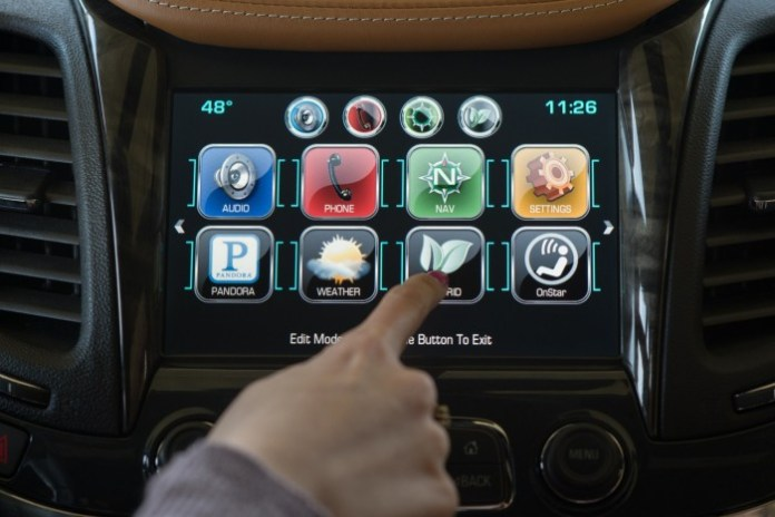 Chevrolet Impala 2014 with MyLink infotainment system