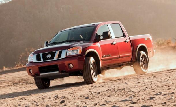 Nissan Titan Facelift 2013