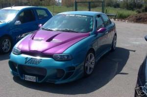 Alfa Romeo 156 overkill