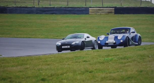 Aston Martin V8 Vantage S vs. Morgan Aero Coupe