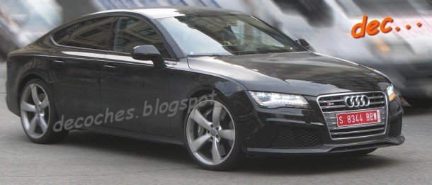 Audi RS7 Spy Photos (1)
