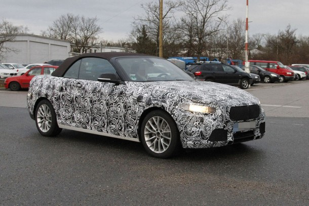 BMW 2-Series Cabrio Spy Photos (5)