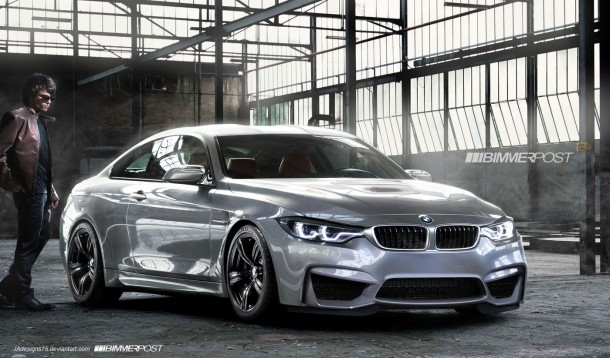 BMW M4 Coupe Renderings