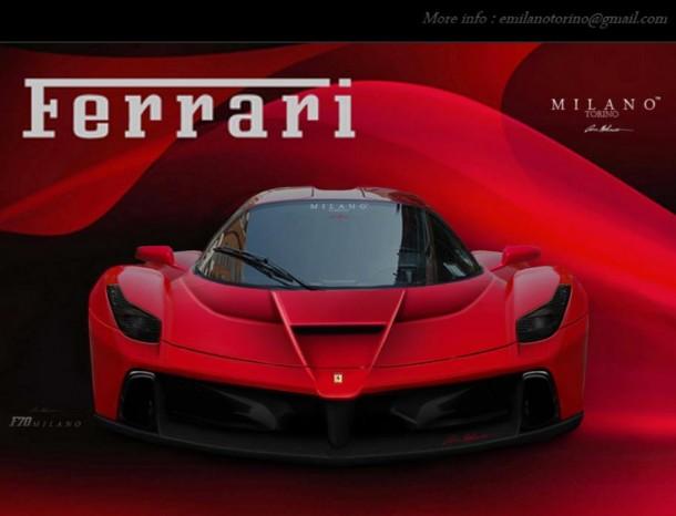 Ferrari F150 Renderings by Evren Milano (1)