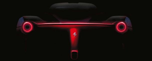 Ferrari F70 Teaser Photos (1)