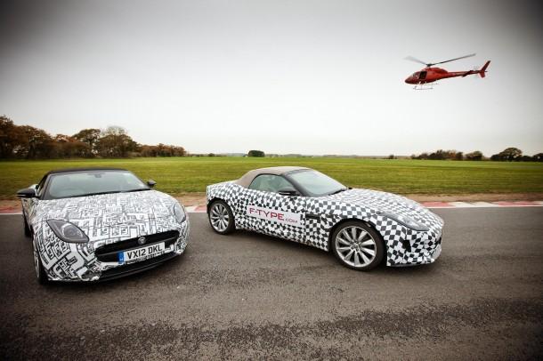 Jaguar F-TYPE dynamic development milestone