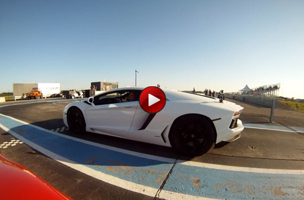 Lamborghini Aventador Vs Twin Turbo Audi R8 V10 Heffner performance