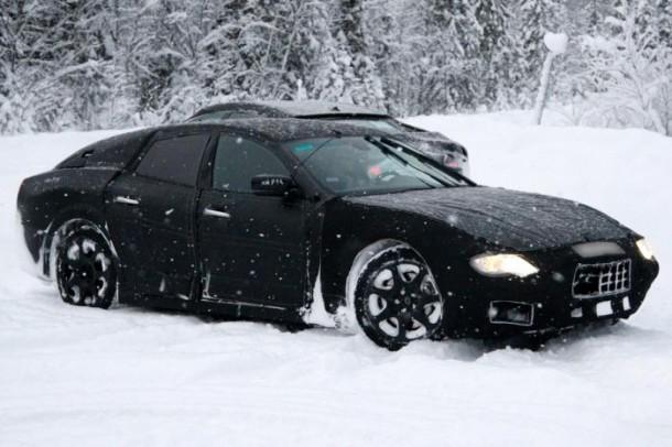Maserati Ghibli Spy Photos (1)