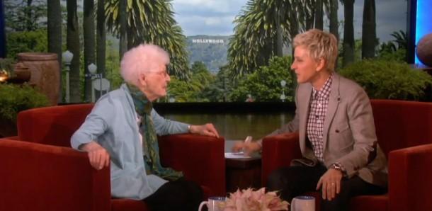 105-Year-Old Edythe Kirchmaier