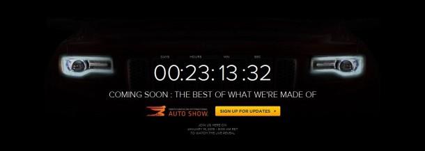 2014 Jeep Grand Cherokee teaser image