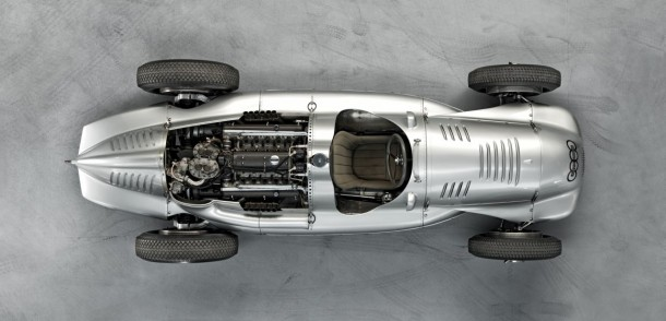 Auto Union Type D twin-supercharger Silver Arrow (9)