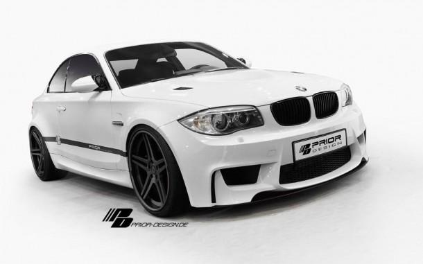 BMW 1-Series with Prior Design aero kit (1)