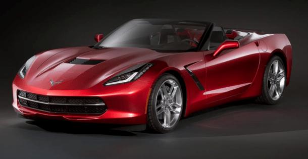 Chevrolet Corvette Stingray Convertible Leaked (1)