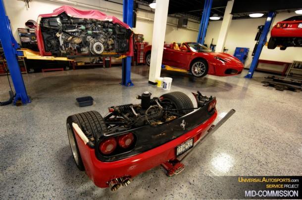 Ferrari F50 Service