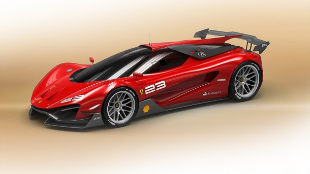 Ferrari Xezri Competizione Concept Study