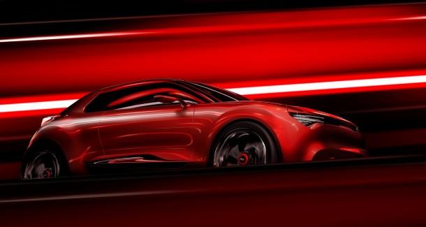 Kia Concept for Geneva 2013 (side)Low