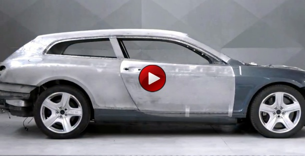 Making of the Bentley Continental Flying Star