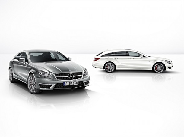Mercedes-Benz CLS 63 AMG 4MATIC and Mercedes-Benz CLS 63 AMG 4MATIC Shooting Brake
