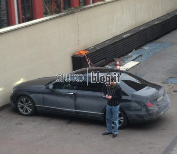 Mercedes-Benz S-Class Spy Photos (2)
