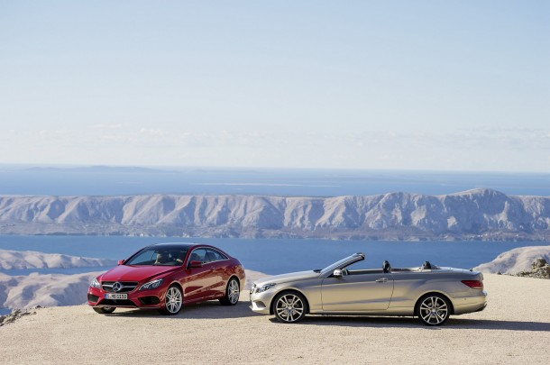 Mercedes E-Class Coupe and Cabriolet Facelift 2013 (1)