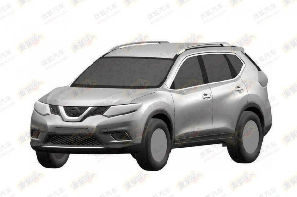 Next-gen Nissan X-Trail leaked patent photos (1)