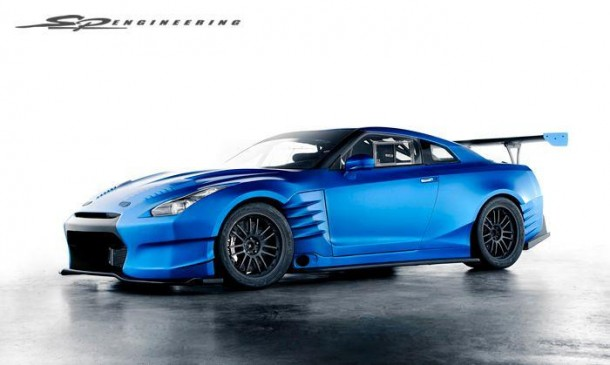 Nissan GT-R from Fast and Furious 6 (1)