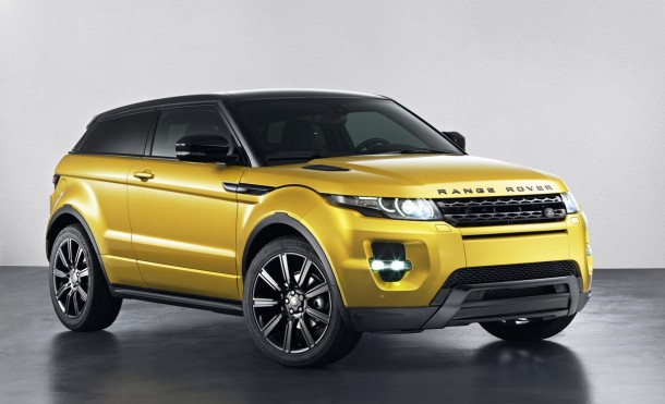 Range Rover Evoque Sicilian Yellow Limited Edition (1)