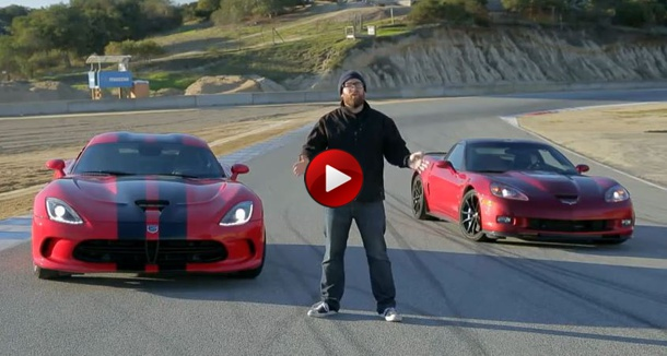 SRT Viper GTS vs Chevrolet Corvette ZR1! - Head 2 Head