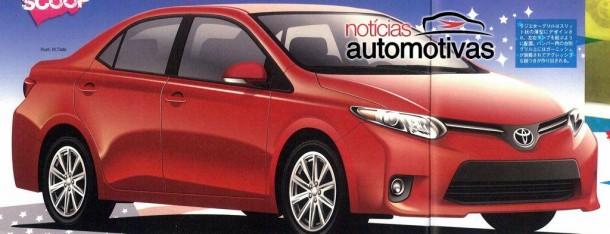 Toyota Corolla 2014 brochure leaked (1)