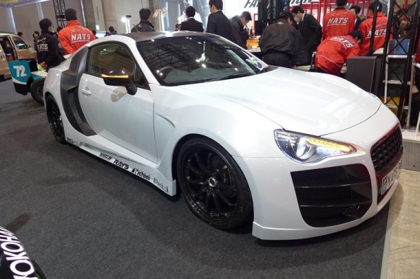 Toyota GT86 Audi R8-Like
