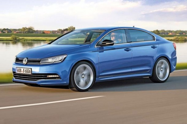 Volkswagen Golf Coupe Rendering (1)