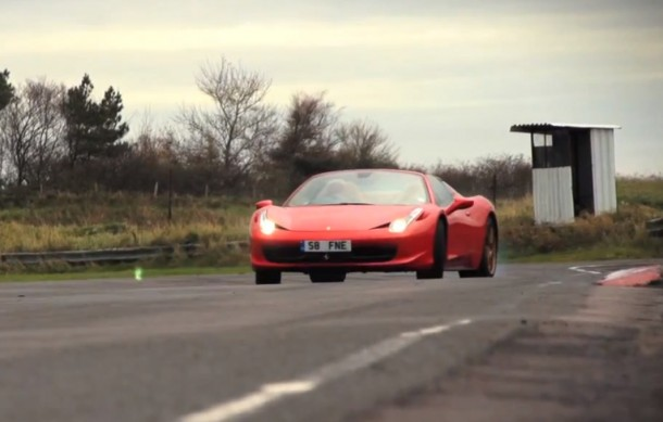 Ferrari 458 Spider Nailed - CHRIS HARRIS ON CARS