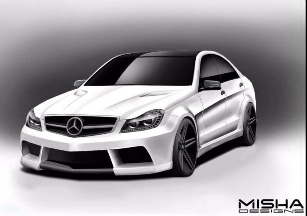 misha-designs-previews-mercedes-c-class-wide-body-kit-54605_1