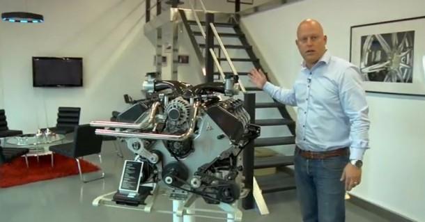 Agera R engine