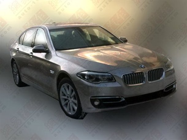 BMW 5 Series facelift (1)