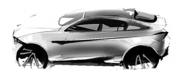 BMW X4 artist rendering