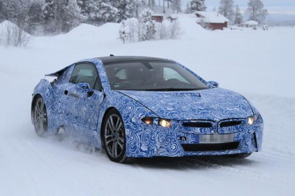 BMW i8 Spy Photos (3)