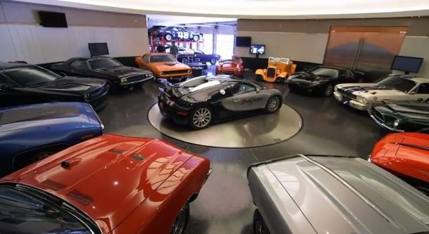Barrett-Jackson Founders Million Dollar Garage in Arizona