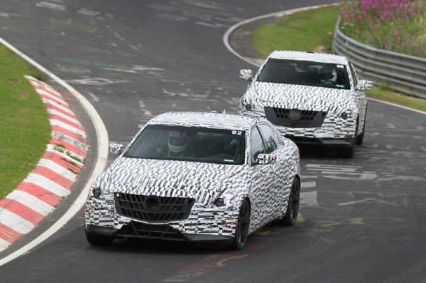 Cadillac CTS 2014 Spy Photo