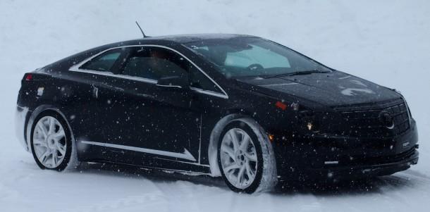 Cadillac ELR 2014 winter testing (3)