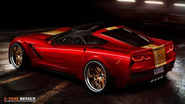 Chevrolet Corvette C7 Targa