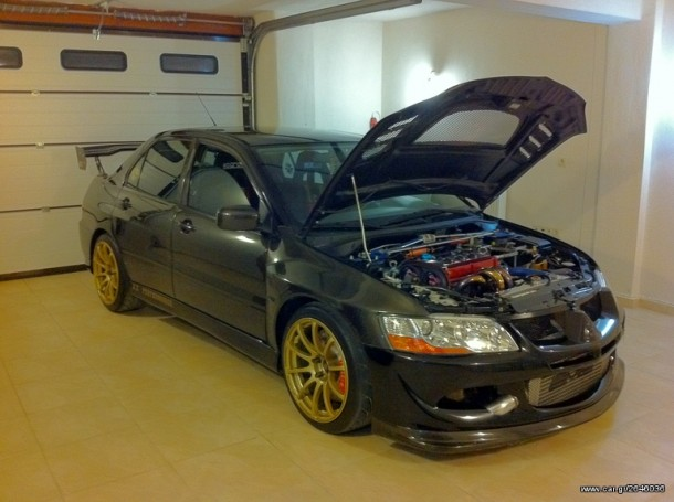 Greek Mitsubishi Lancer Evo 8 for sale (1)
