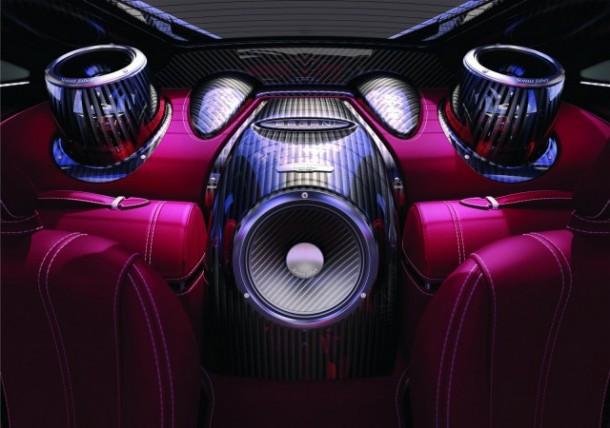 Pagani Huayra Sonus Faber 1200 Watts Sound System (1)